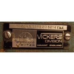 Гидронасос 3525V35A17 1BA 10 180 лопастной сдвоенный