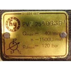 Гидронасос PVS-25A 063 B1 лопастной одинарный регулируемый