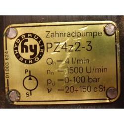 Гидронасос PZ12z01-3 + PZ4z2-3 шестеренный сдвоенный